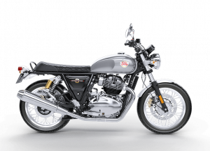 Royal Enfield Interceptor Silver Spectre