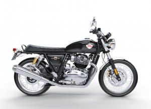 Royal Enfield Interceptor Mark Three Zwart